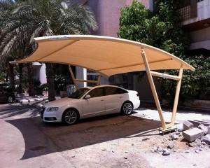 مظلات سيارات معلقة