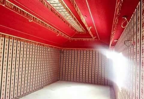 بيوت شعر مع الديكور