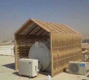 مظلات خزانات الرياض