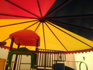 مظلات وسواتر